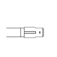 wsuwka 6,3 prosta - zastosowanie - grzałki rurkowe